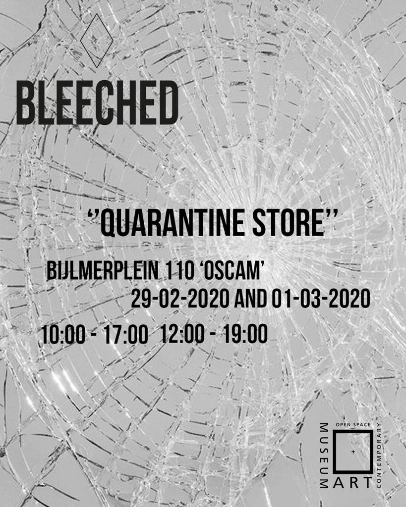 OSCAM x BLEECHED the quarantine store