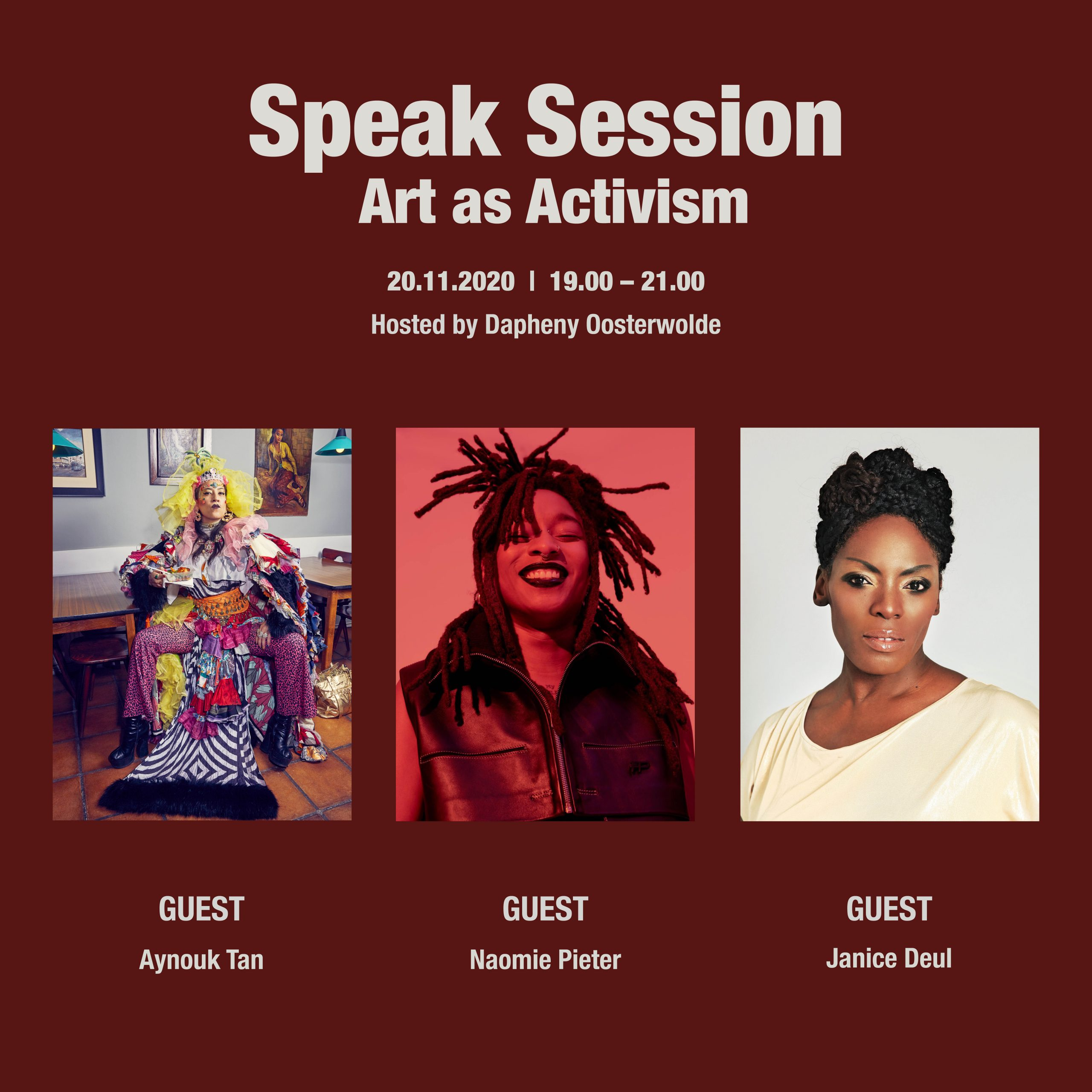 OSCAM Speak Session x Encourager – Art as activism